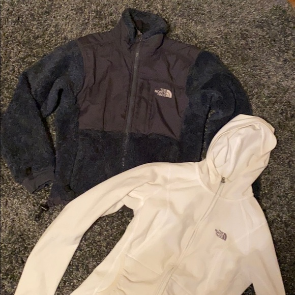 North Face fleece with FREE North Face zip up!